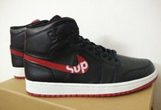 Supreme x Air Jordan 1 In 419583 For Men